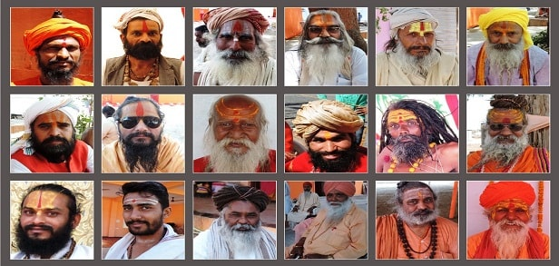 06 Different akhadas have different tilak styles